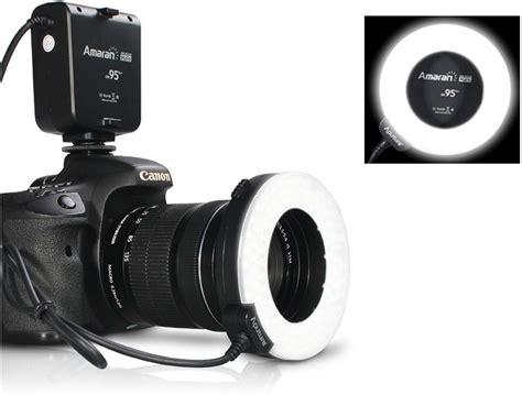 Lensa Canon Ring aputure halo cri 95 led flash ring for canon