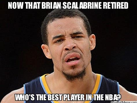 Scalabrine Memes - memesnba white mamba has retired