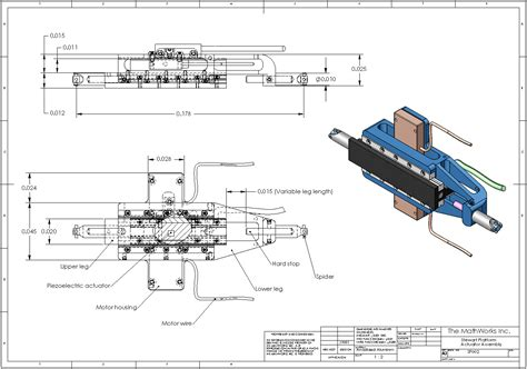 mechanical layout drawing definition about the stewart platform matlab simulink