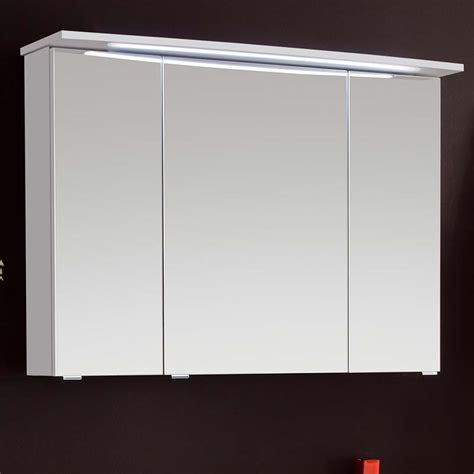 Led Bathroom Mirror Cabinet Price Solitaire 6005 Mirror Cabinet 3 Doors With Led Light