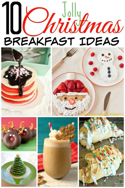 10 jolly christmas breakfast ideas