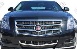Cadillac Cts Coupe Grille Gi 76 Cadillac Cts Chrome Grill Inserts Custom Look