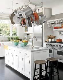Kitchen Island With Hanging Pot Rack by Some Really Neat Stuff Kitchen Pot Racks