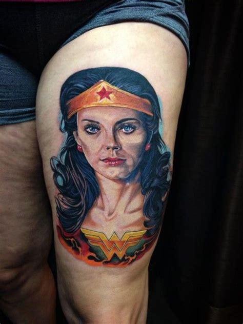 wonder woman tattoos by luis fernando puedmag vinueza