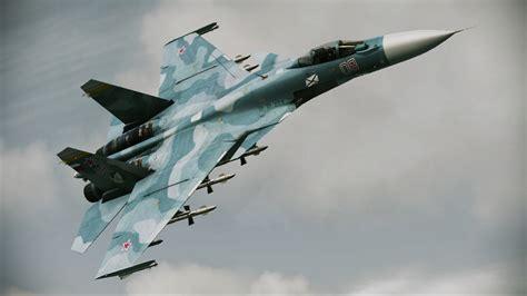 33 A D ace combat assault horizon aircraft reveal includes su 33