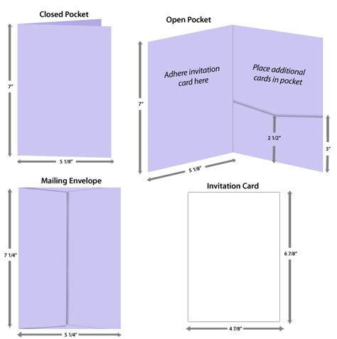 5x7 panel fold card template invitation card size for pocketfold invitations lci paper