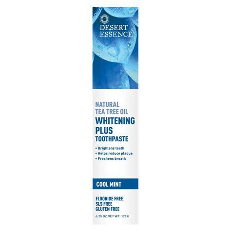 Essence Whitening desert essence whitening plus cool mint toothpaste