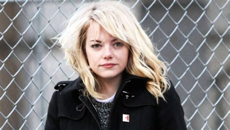 emma stone feminist emma stone says women who shame themselves each other suck