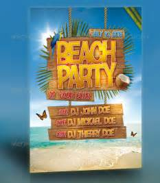 Beach Flyer Template Free Gallery For Gt Beach Party Poster Template