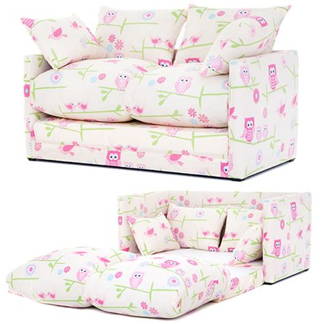 sofa beds for girls children s prints bedroom sofa bed fold out boys girls