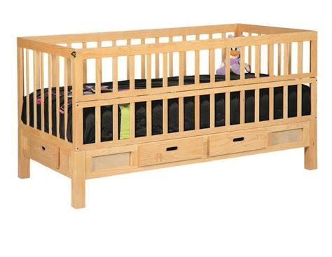 cama con cuna cama cuna corral de madera 3 en 1 con cajones 4 899 00