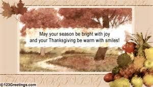 thanksgiving season bright with free business greetings ecards 123 greetings