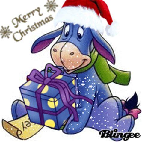 eeyore christmas picture  blingeecom