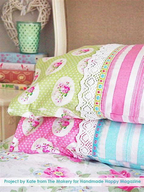 Handmade Sewing Projects - sewing projects for the home diy pillowcase ideas diy