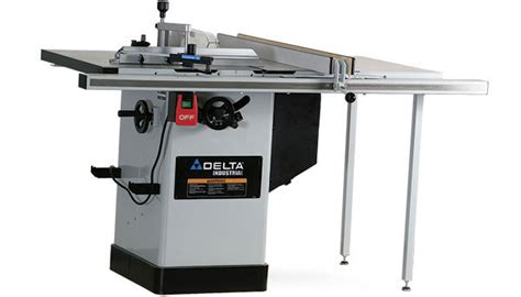 woodworking table saw reviews delta 36 717 hybrid tablesaw finewoodworking