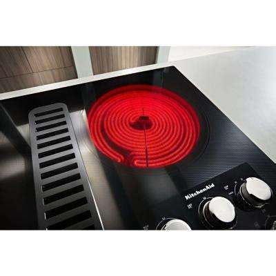 downdraft electric cooktops downdraft electric cooktops cooktops the home depot
