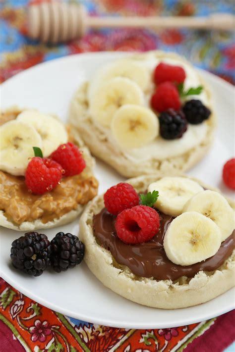 fruit muffins muffin fruit breakfast pizzas