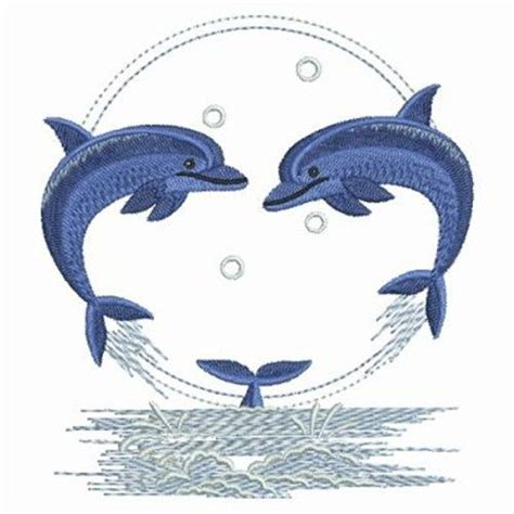 embroidery design dolphin clearance on this circle of dolphins embroidery design