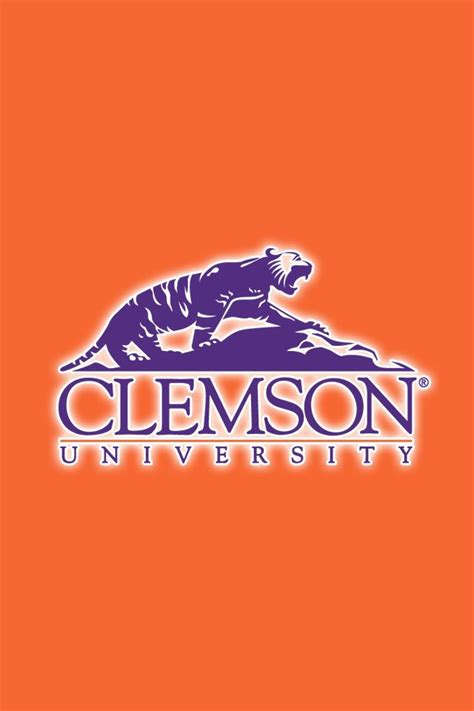 clemson football colors 17 best images about clemson tigers on logos