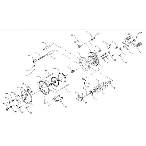 penn reel diagrams penn fishing reels parts diagram penn 60 fishing reel