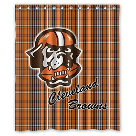 cleveland browns shower curtain cleveland browns curtain browns curtain browns curtains
