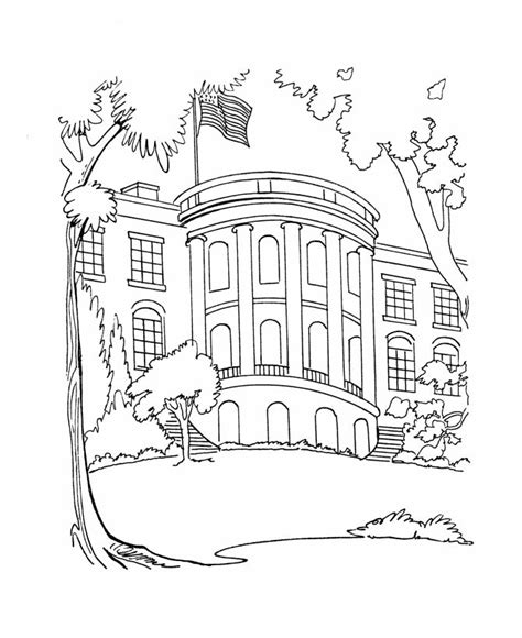 the white house coloring pages social studies pinterest