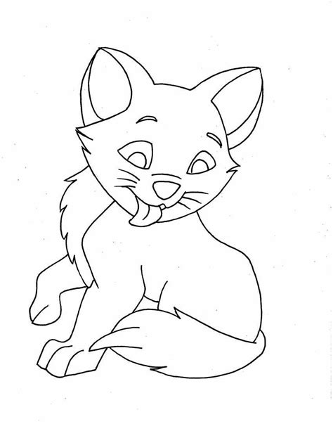 printable coloring pages of cats free printable cat coloring pages for