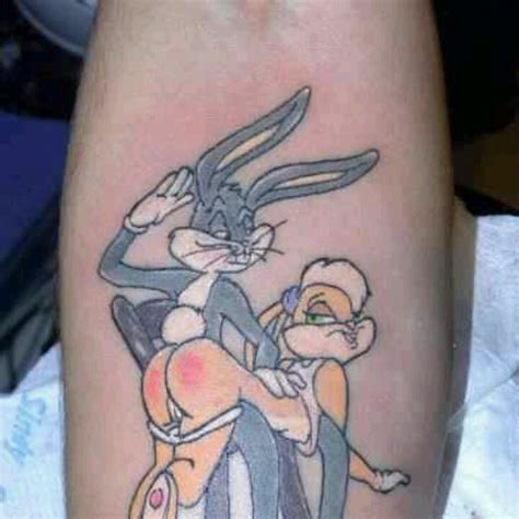 cute bugs bunny design awesome tattoos pinterest