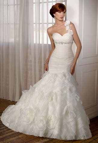 One Shoulder Wedding Dress by One Shoulder Wedding Dresses Ukbride