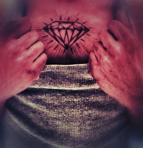 tattoo diamond man diamond tattoo meaning best tattoo ideas gallery