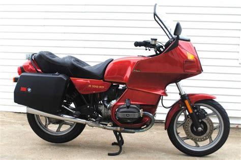bmw r100rt for sale 1989 bmw r100rt r100 rt low for sale on 2040 motos