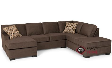 sleeper sofa with storage chaise 146 fabric chaise sectional by stanton is fully