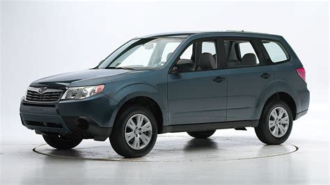 subaru forester crash test rating new crash test results subaru forester is top safety