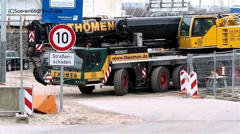 Stop Kran 1 5 In abfahrt liebherr kran crane ltm1200 5 1 th 246
