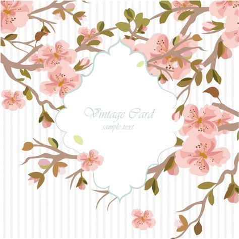 Floral Watercolor Wedding Invitation Template Vector Free Download Watercolor Flower Invitation Template