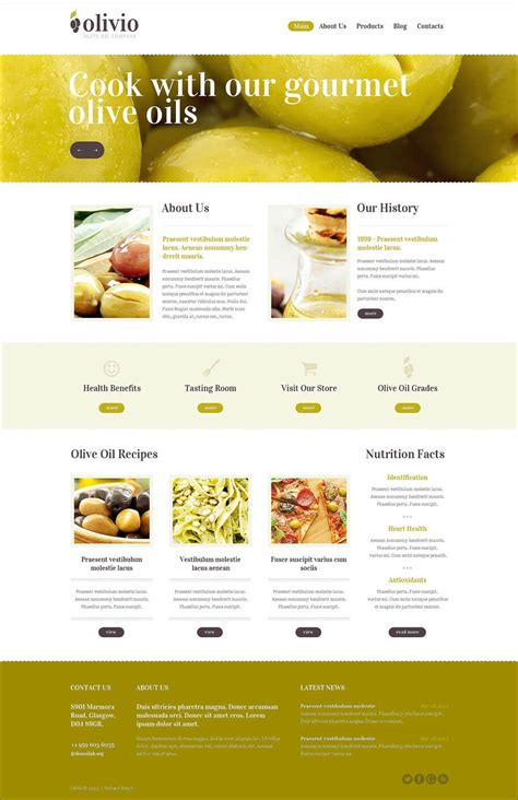 8 Best Food Drupal Themes Templates Free Premium Best Food Templates