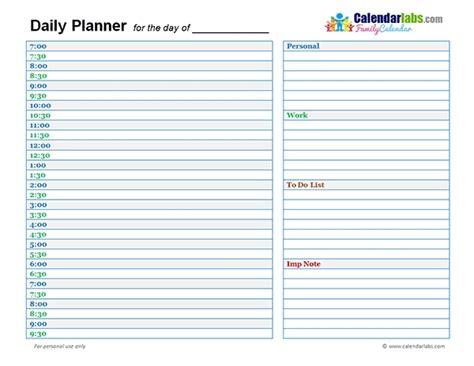 Daily Planner Template 2018 Cortezcolorado Net Daily Calendar Template 2018