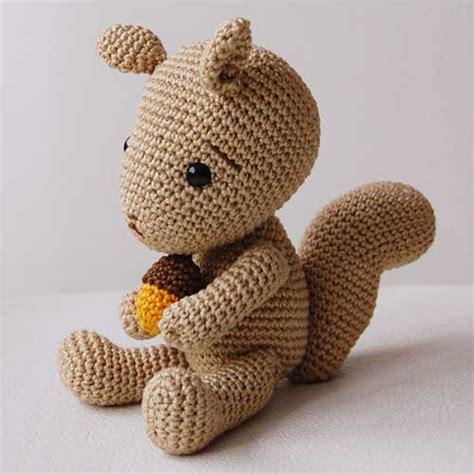 amigurumi squirrel pattern crochet simon the squirrel amigurumi pattern amigurumipatterns net