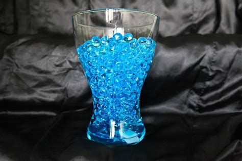 wedding table centrepiece bio gel balls for vases