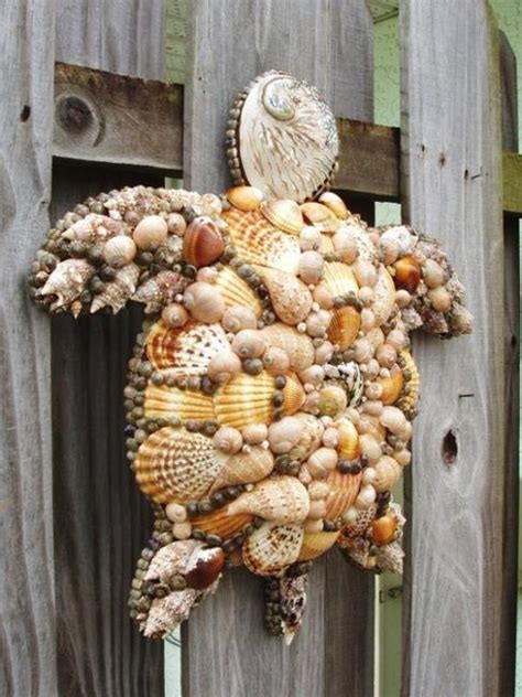 seashell decorations home 40 sea shell and crafts adding charming accents to