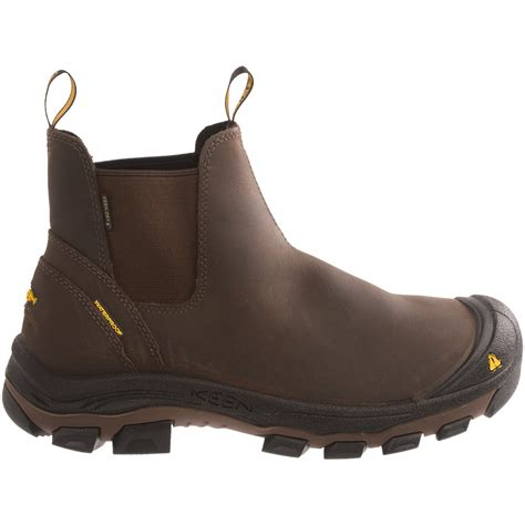 keen portland pr slip on work boots for 8060d save 47