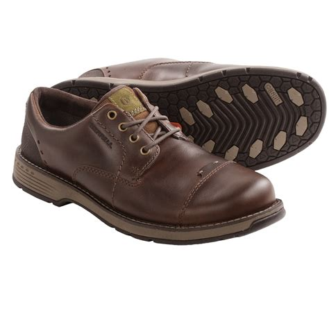 merrell realm loft oxford shoes leather for in brown