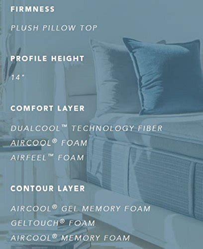 simmons beautyrest silver plush pillow top mattress air