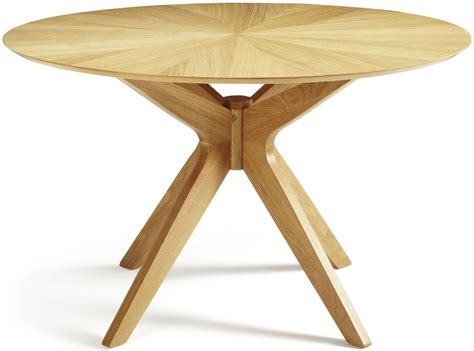 Glass Top Dining Room Tables Serene Bexley Oak Dining Table Round Fixed Top Serene