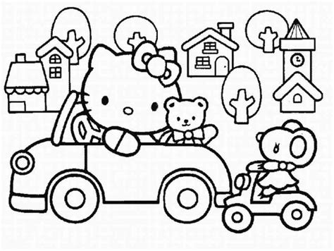 hello kitty sleeping coloring pages christmas hello kitty coloring pages az coloring pages