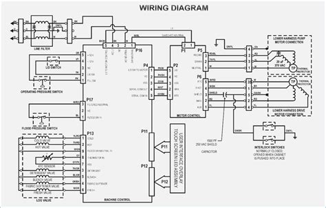 washing machine 110 volt motor wiring diagram single