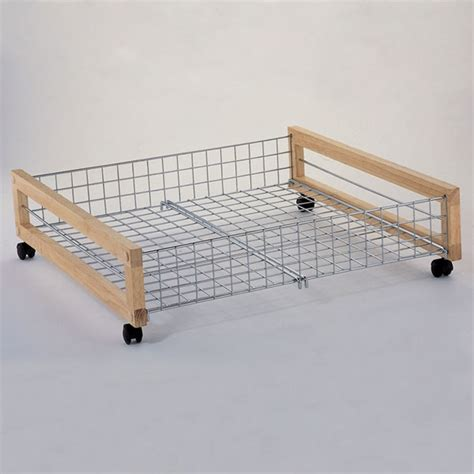 rolling underbed shoe storage metal underbed storage rack road to a clean and