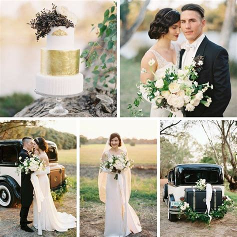 an deco wedding shoot with downton elegance wedding style and inspiration