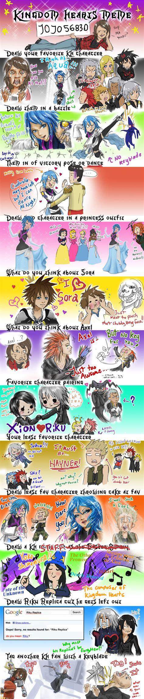 Kingdom Hearts Memes - kingdom hearts meme by jojo56830 on deviantart