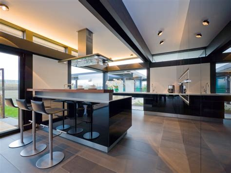 House Interior Design Modern by Huf Haus Musterhaus K 246 Ln Art 5 Green R Evolution